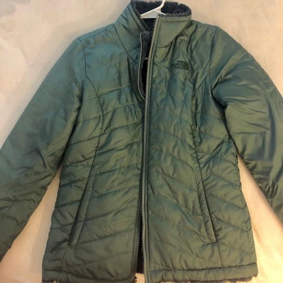 North Face Fur lined jacket/ coat
